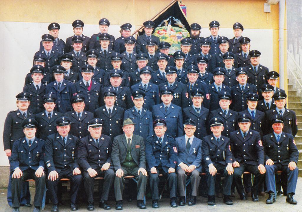 1983 - 120-Jähriges Gründungsfest der Freiwilligen Feuerwehr Nankendorf