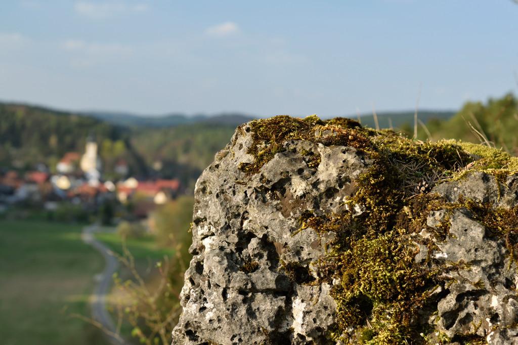 Panorama auf Nankendorf