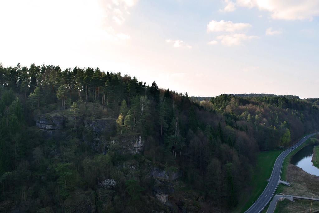 Der Säustein-Felsen bei Nankendorf
