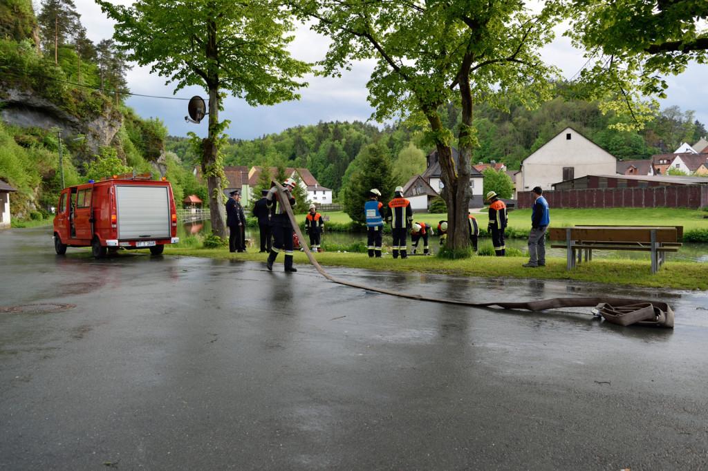 Freiwillige Feuerwehr Nankendorf Leistungsprüfung 2014