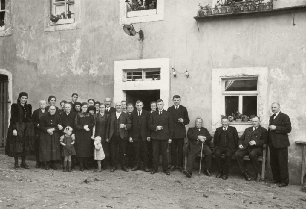 Historische Ansichten - Familie Sebald Anfang des 20. Jahrhunderts in Nankendorf
