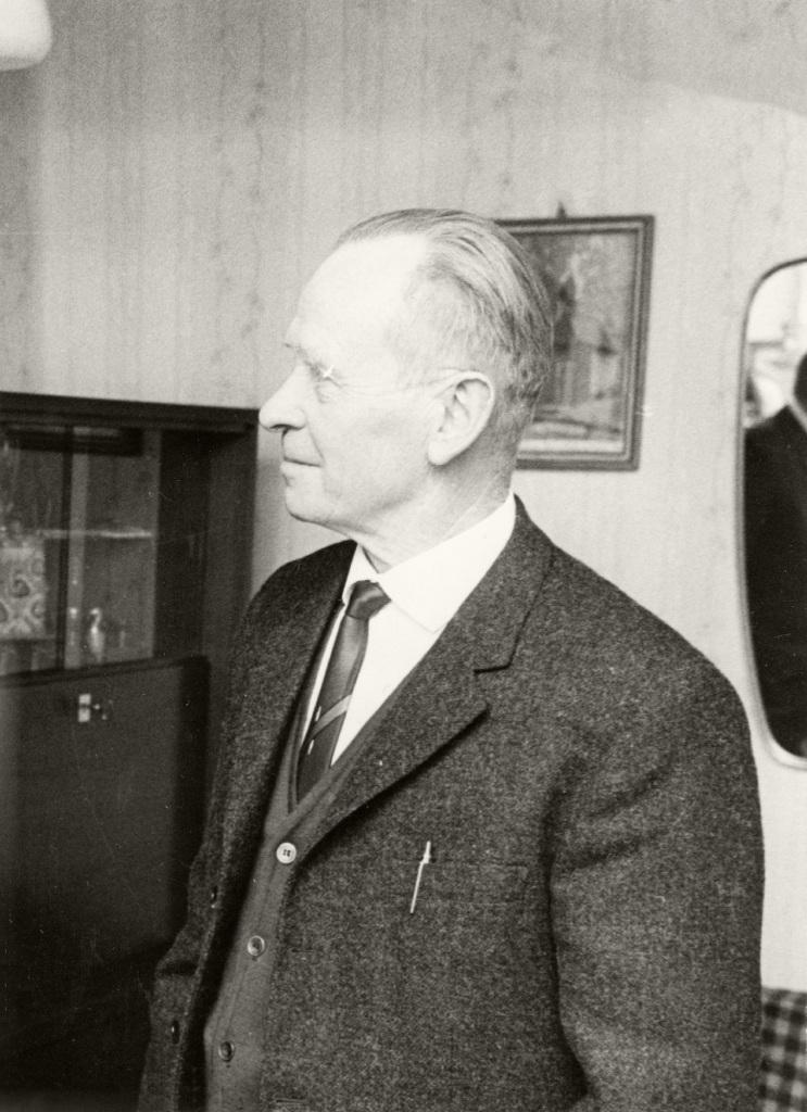 Historische Ansichten - Nankendorfer Altbürgermeister Josef Sebald