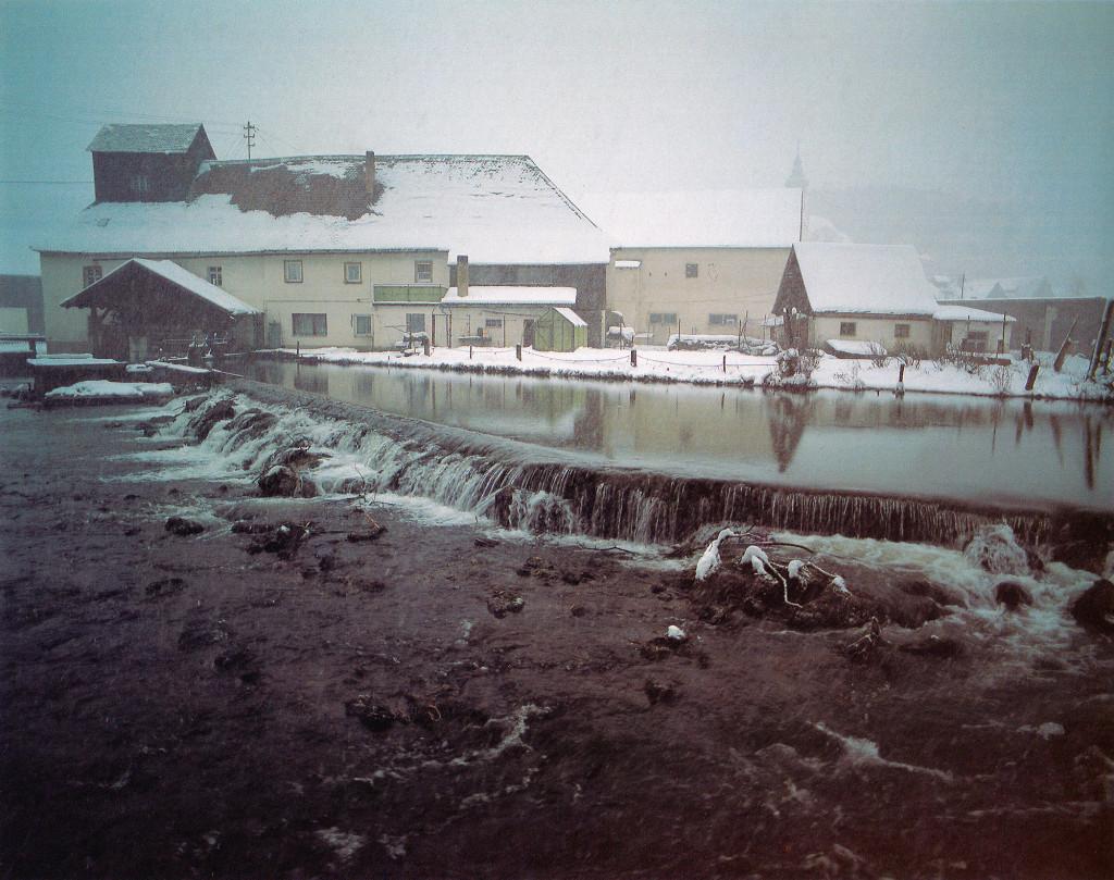 Historische Ansichten - Nankendorfer Mühle aus dem Bildband 'Die Wiesent – Der Fluß, die Burgen und das Licht'