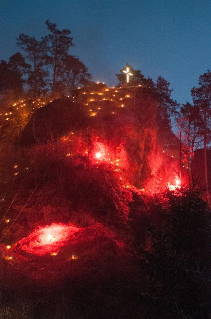 Lichterprozession und Jahresabschluss 2016
